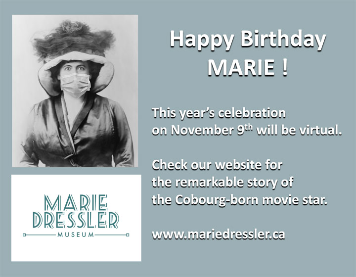 Happy 152nd Birthday Marie