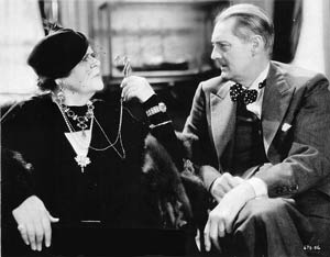 Marie Dressler with Lionel Barrymore